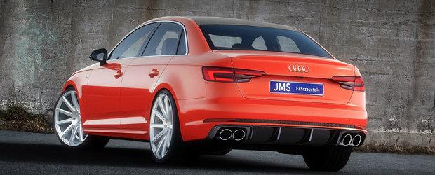 JMS prezinta noul kit exterior pentru Audi A4 B9