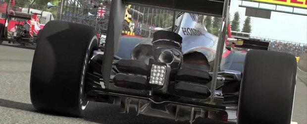 Jocul F1 2015 primeste un prim teaser si o data de lansare
