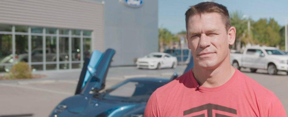 """John Cena la cutite cu Ford dupa ce si-a vandut noul GT: """"Il dam in judecata pentru frauda!"""""""