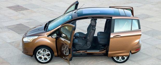 Johnson Controls furnizeaza scaune sport, elegante, pentru noul model minivan Ford B-MAX