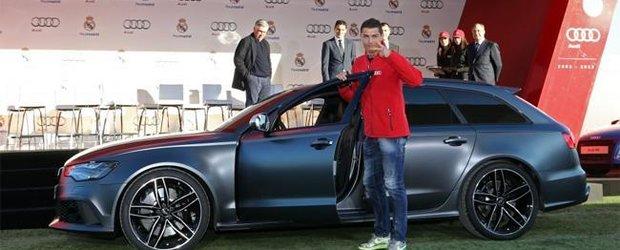 Jucatorii de la Real Madrid au primit autoturisme Audi