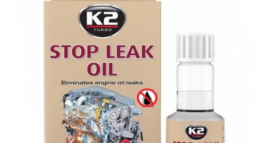 K2 Aditiv Pentru Stopat Scurgeri De Ulei Stop Leak 50ML