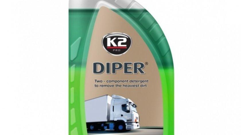 K2 Detergent Spuma Auto Camioane Bicomponent Diper 1KG