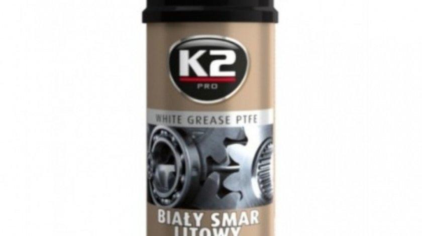 K2 Spray Vaselina Alba Cu Teflon Bialy Smar Litowy Z 400ML
