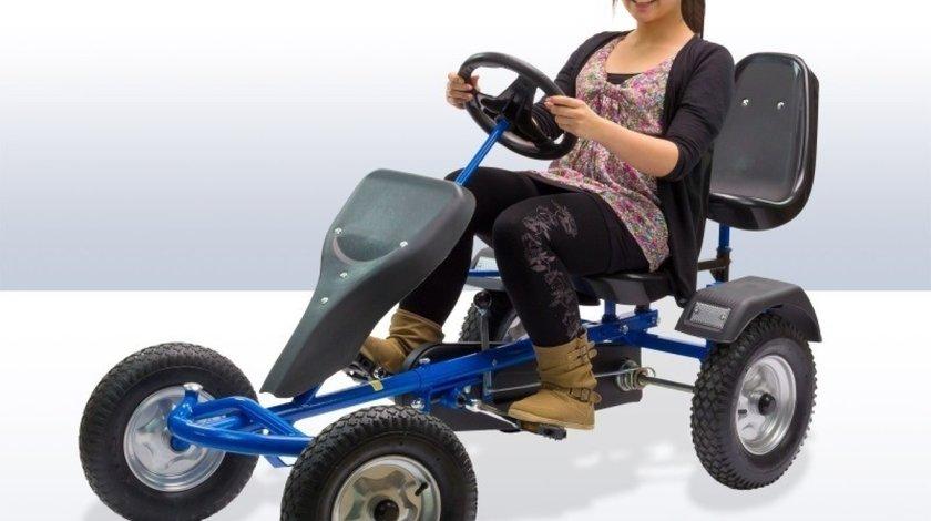 Kart, go kart cu pedale XL profesional 2 locuri