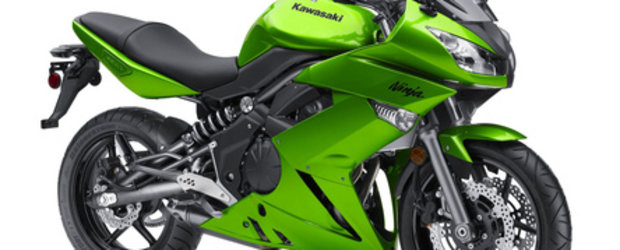 Kawasaki Ninja 650R Model 2010