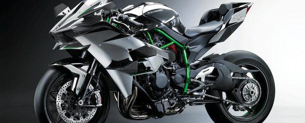Kawasaki Ninja H2, motocicleta care va costa 25.000 de Euro