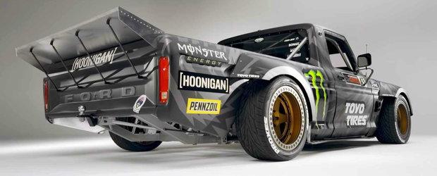 Ken Block are o noua masina dementiala. Hoonitruck are motor de FORD GT si 927 de cai putere