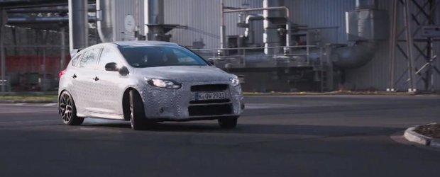 Ken Block ne arata de ce este in stare noul Ford Focus RS de 320 cp