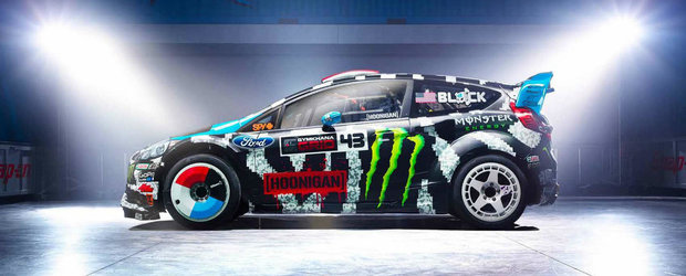 Ken Block ne arata noua masina pentru 2014!