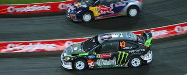 Ken Block versus Kimi Raikkonen - Spectacol in Portugalia!