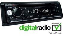Kenwood KDC-BT700DAB CD-Receiver with DAB tuner & ...