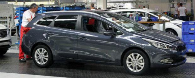 Kia a inceput sa produca noul Cee'd Sportswagon la fabrica de la Zilina