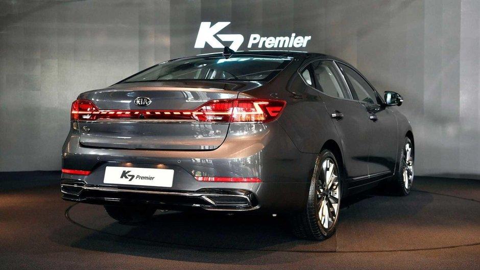 Kia Cadenza Facelift