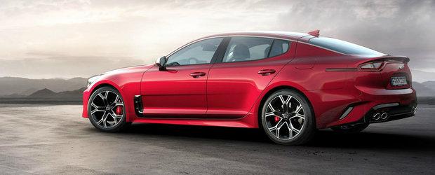 Kia confirma lansarea noului Stinger in Europa. Cel mai 'slab' motor e un diesel de 200 CP