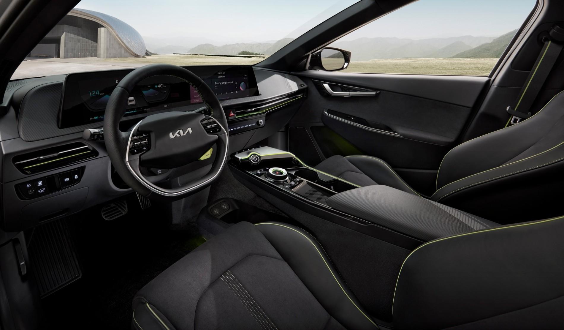 Kia EV6 - Poze noi - Kia EV6 - Poze noi