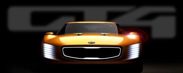 Kia GT4 Stinger Concept de 315 cp se va lansa la Detroit