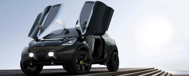 Kia Niro Concept vine la Salonul Auto de la Frankfurt 2013