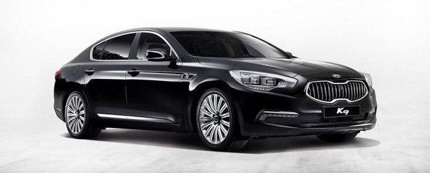 Kia ofera detalii despre modelul K9. Masina va fi lansata pana la sfarsitul lui 2012