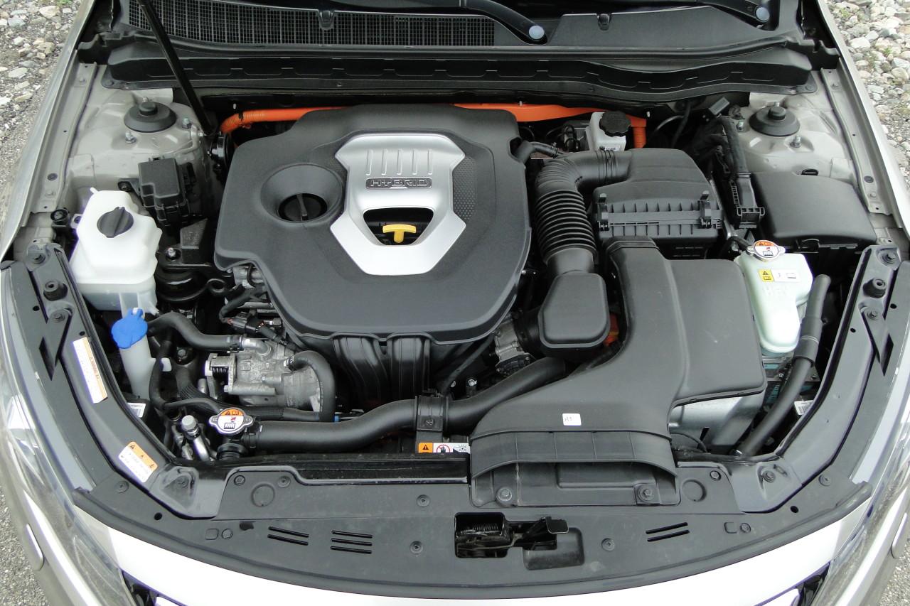 Kia Optima 2.0 hybrid 2013