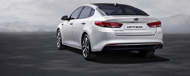 Kia Optima vrea sa concureze VW-ul Passat cu... un 2.0 aspirat