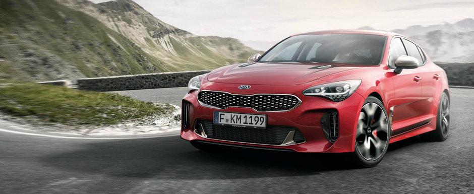 Kia prezinta noul Stinger ca fiind cel mai rapid model din istoria companiei