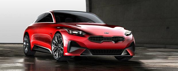 "Kia prezinta primul ""extended hot hatch"" al lumii. Conceptul Proceed va putea fi admirat la Frankfurt"