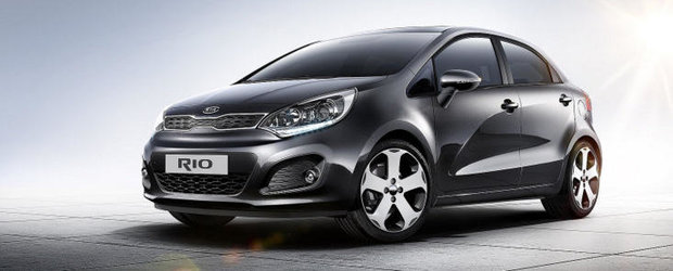 Kia Rio, disponibil si in showroom-urile din Romania