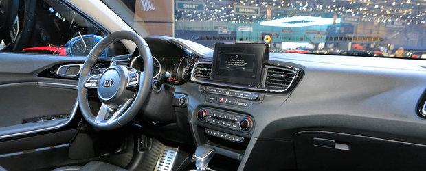 Kia scoate in public noua generatie Ceed. POZE de la Geneva cu masina care concureaza Golf-ul nemtilor