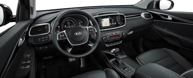 Kia Sorento facelift debuteaza in Europa. Noutatea absoluta o reprezinta transmisia automata cu opt trepte