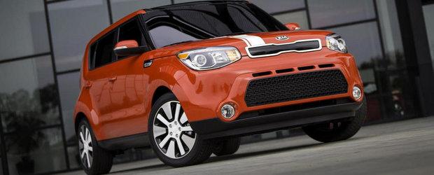 Kia Soul EV va beneficia de o autonomie de 200 de kilometri