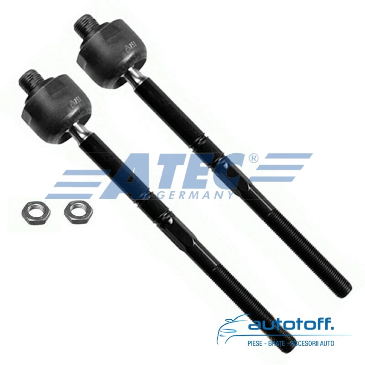 Kit 10 brate fata Mercedes Benz C W203 S203 CLK C209 Kompresor, CL203 Coupe A209 Cabriolet
