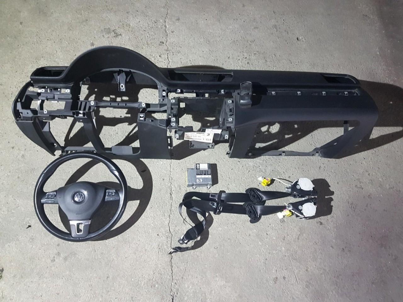 Kit airbag-uri vw passat b7 2011-2015