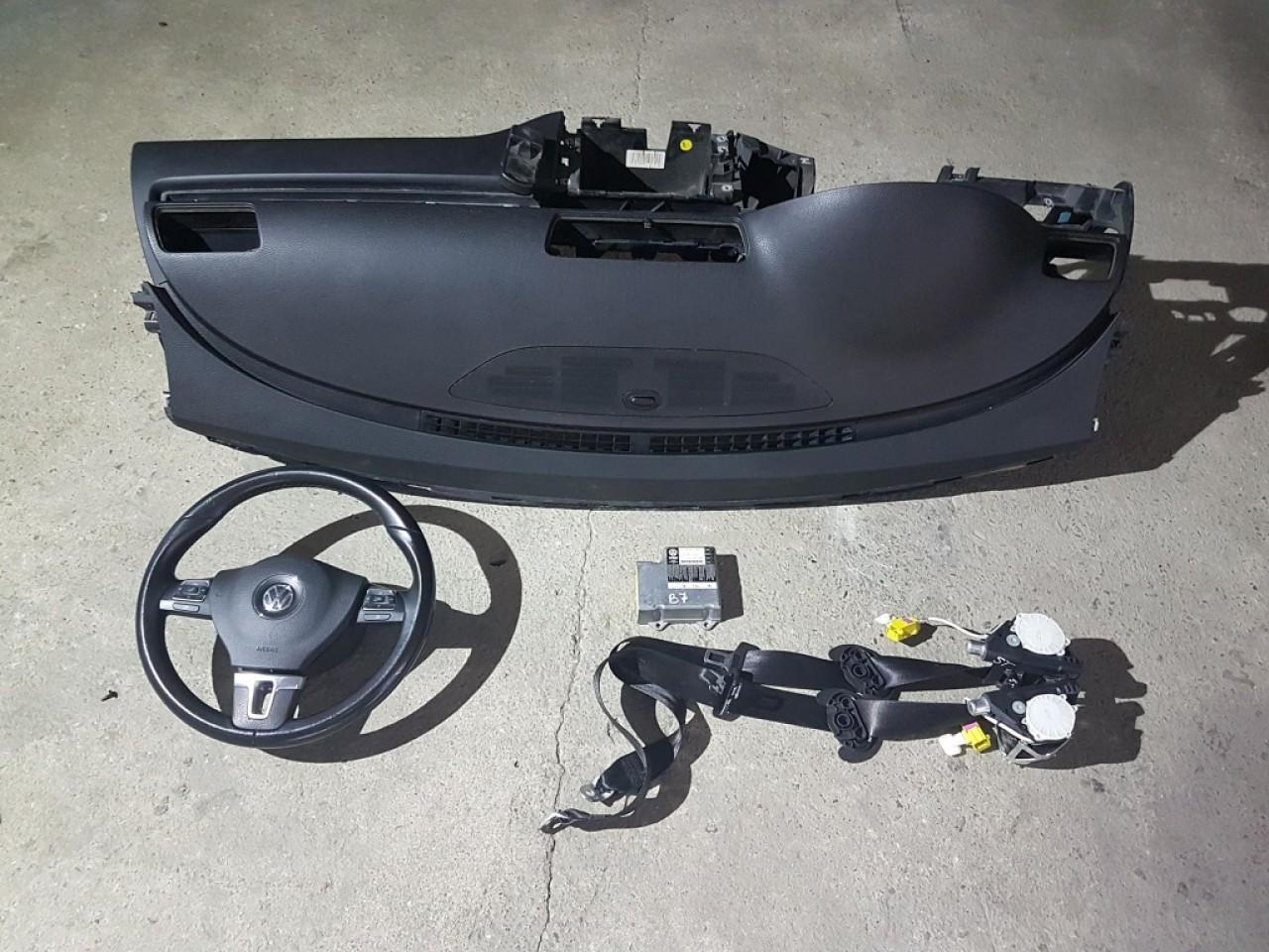 Kit airbag-uri vw passat cc 2008-2016