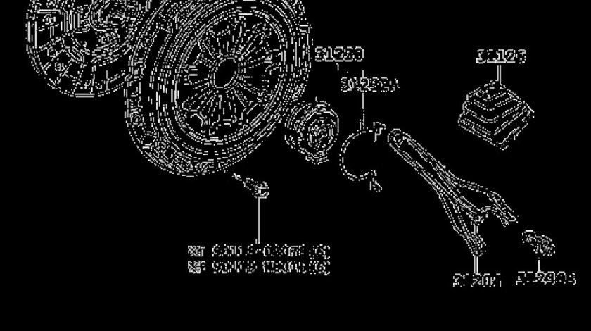 Kit ambreiaj motor 1,4 D-4D Toyota Yaris,Corolla,Auris AISIN 621 3054 00