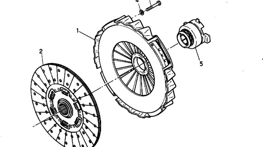 Kit ambreiaj Renault Magnum motor 12.0TD Mack VALEO VAL805386
