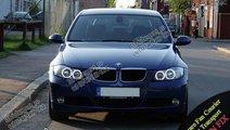 Kit Angel Eyes BMW E90 E91 Culoare ALB