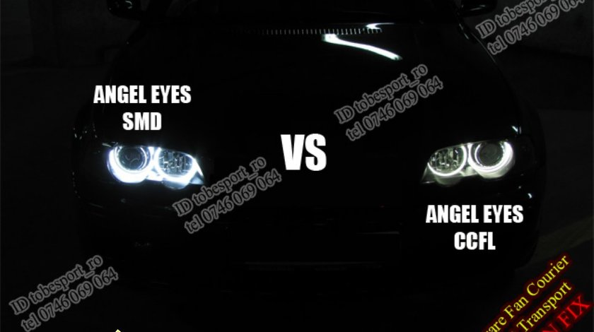 Kit Angel Eyes SMD LED BMW E46 SERIA 3 PROMOTIE 51 EURO