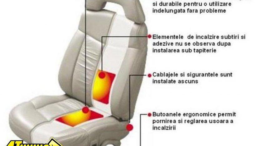 KIT AUTO PENTRU INCALZIRE IN SCAUNE PE CARBON BUTOANE 2 / 5 POZITII