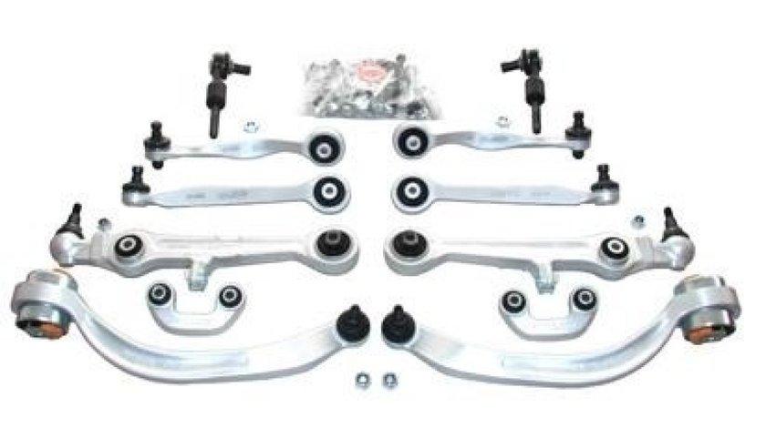 Kit brate suspensie / directie Audi A6 C5 (01.1997 - 01.2005) - 12 piese QWP WSS998 - produs NOU