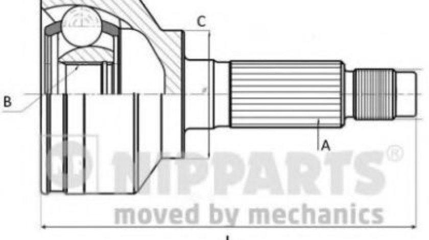 Kit cap planetara KIA SHUMA II limuzina (FB) (2001 - 2004) NIPPARTS J2820307 - produs NOU