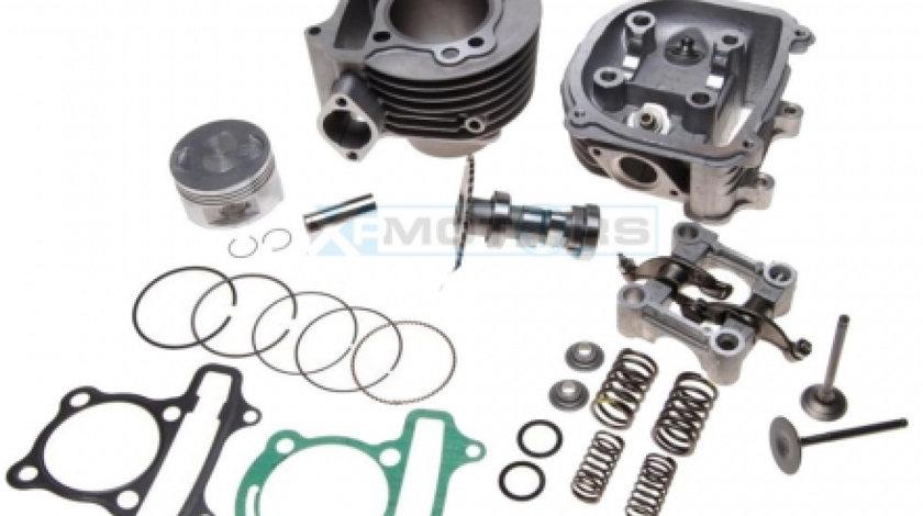 Kit cilindru + Chiulasa completa ATV 150CC 57,4MM 4T