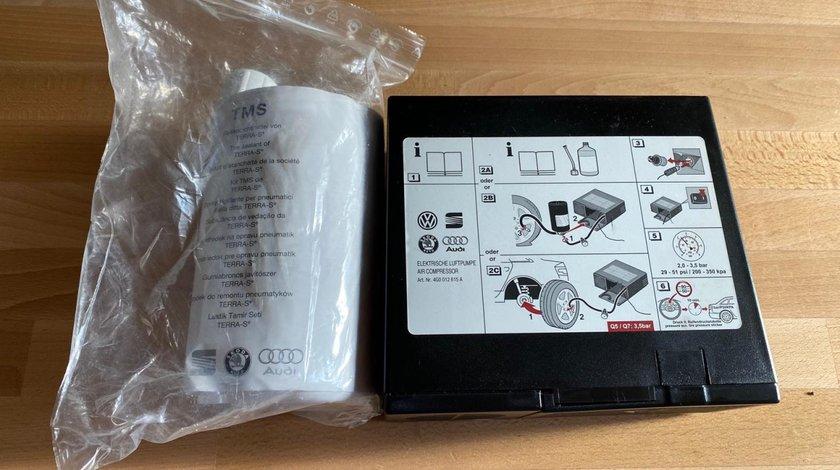 Kit Compresor si spuma VW Audi Skoda Bmw Mercedes Mazda Toyota Ford