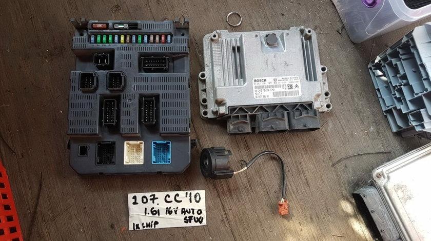 Kit de pornire Peugeot 207 CC 2010, 1.6i 16v, automat, cod calculator : 0261201505 / 9664738680, 5WF