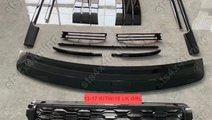 KIT EXTERIOR BLACK EDITION CU GRILA FATA 2018 LOOK...