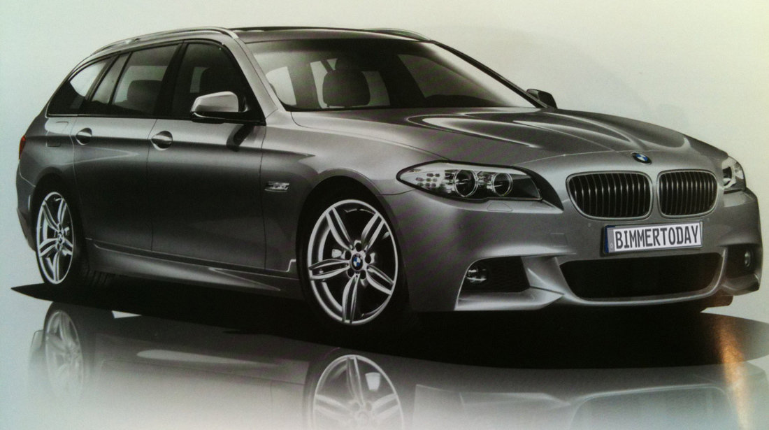 Kit exterior BMW F11 Touring M Pachet (Bodykit)