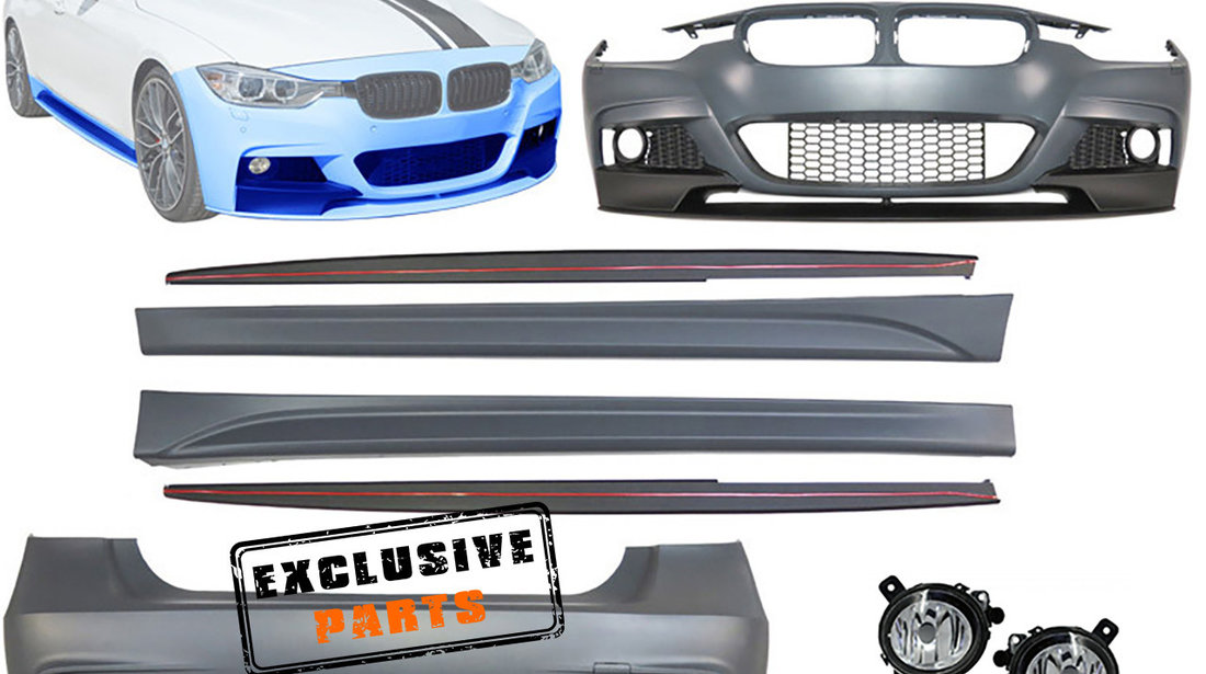 KIT EXTERIOR BMW SERIA 3 F30 (11-18) M-PERFORMANCE DESIGN