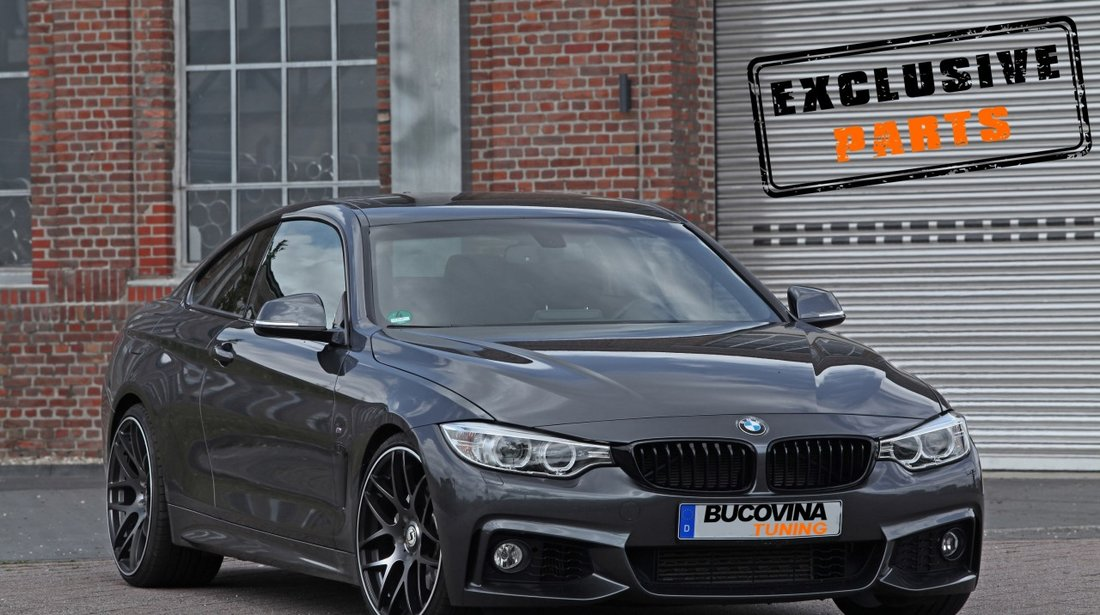 Kit Exterior BMW Seria 4 F32 F33 (Dupa-2013) M-Tech Design