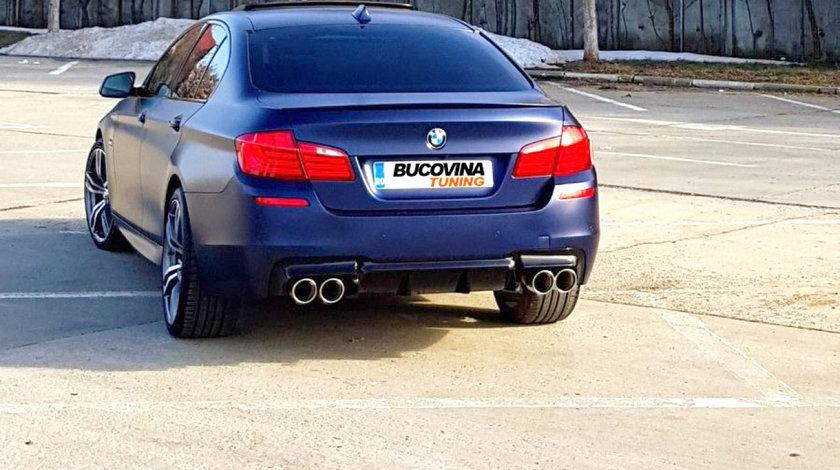 Kit Exterior BMW Seria 5 F10 (10-14) evacuare dubla M-Performance Design