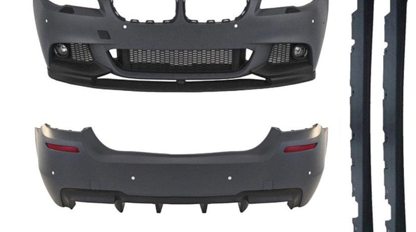 Kit Exterior BMW Seria 5 F10  evacuare dubla M-Performance Design